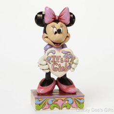 Jim Shore Disney Traditions Minnie New Baby Girl Figurine 4043664 NEW