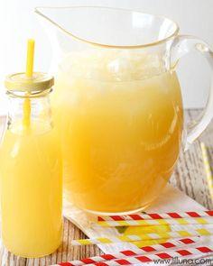 The BEST Homemade Lemonade recipe { lilluna.com } #lemonade