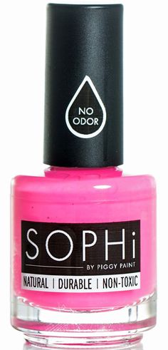 Susan Heim on Parenting: SOPHi Nail Polish: Eco-Friendly, Natural, and Non-Toxic! (GIVEAWAY)