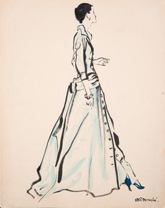 21 Illustrations Of Fashion's Finest, From Dior To Pucci | Co.Design | business + design