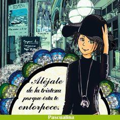 Aléjate... Cool Words, Wise Words, Maria Jose, Positive Attitude, Cute Girls, Me Quotes, Nostalgia, Memes, Life