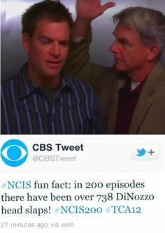 Nothing like a Gibbs head slap...Tony knows them so well :)