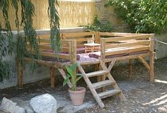 Always liked to one of these.... Turkish seating area.