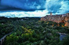 Pitigliano, Tuscany.., province of Grosseto , Tuscany region Italy