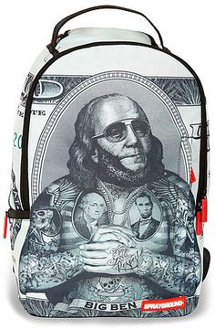 The Big Ben Backpack by Sprayground use rep code: OLIVE for 20% off!
