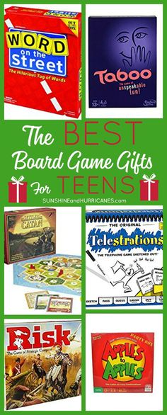 The Best Board Games for Teens Suggested By Teens Looking for some great gift ideas for teens? These Board Games for Teens were suggested by teens and make fun, affordable gifts to holidays and birthdays