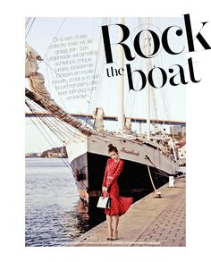 Rock The Boat: Iulia Cirstea By Hans Van Brakel For Marie Claire Netherlands August 2014