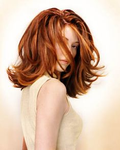 modern 60's flip hairstyle   Medium long hair style, flip, highlights