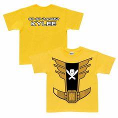 Power Rangers Yellow Ranger Yellow T-Shirt | Ty's Toy Box