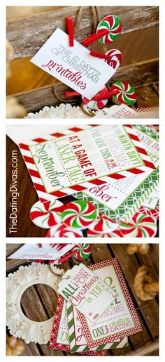 12 Dates of Christmas- saving this as a Christmas gift for my husband for next…