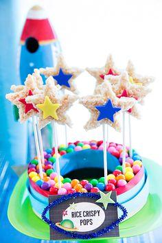 Dulces ideales para una fiesta espacio / Ideal sweets for a space party