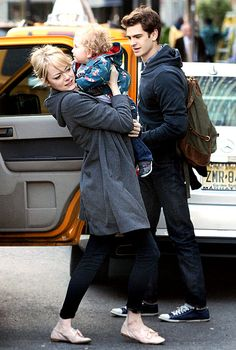 Emma Stone and Andrew Garfield's Sweetest Moments - Us Weekly