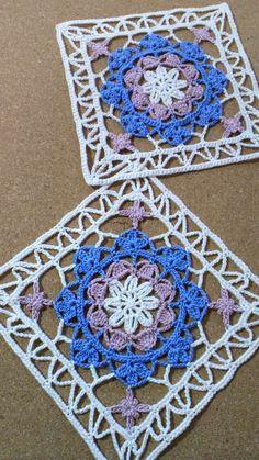 Turkish Tile Square crochet blocks
