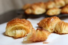 French (all butter) Croissants: Vintage Kitchen Notes