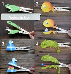 make these for the slippery fish song or old lady who swallowed a fly?