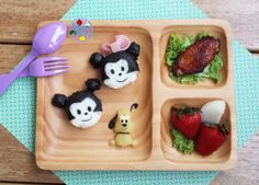 Disney lunch plate | Bento Days