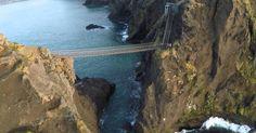 Descubre el puente colgante de Carrick-a-Rede