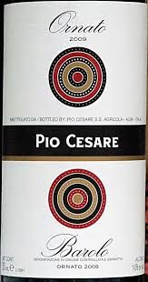 Pio Cesare Barolo 2009 This is a classic Barolo, with excellent structure and harmony, mild tannins and balanced fruit. It is immediately approachable, but it also has a very long ageing potential. $59.99 per bottle Delivermywine.com 888-959-7721