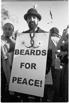 Beards do bring peace everywhere they go
