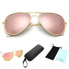 Polarized Aviator Sunglasses for Men and Women