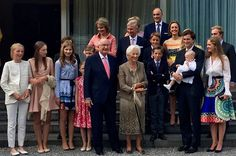 Celebrations of 80th birthday of Queen Paola of Belgium