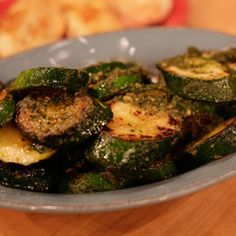Sunny Anderson's 2 Ingredient Zucchini Recipe on Rachael Ray show.