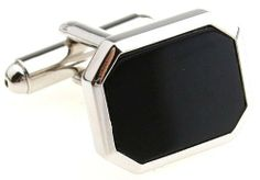"Silver Black Cufflinks Cuff Links DGW Cufflinks. $33.88. Comes packaged in a Limited Edition Collectors Storage Box!. Silver Black Cufflinks Cuff Links. Rhodium plated base metal. Free Gift Wrapping with each order!. Approximately 3/4"" in diameter. Save 32%!"
