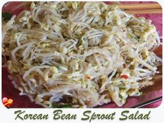 Enjoy this local Korean Bean Sprout Salad recipe mild or spicy. Get more favorite Hawaiian and local style recipes here.