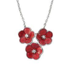 Flower Necklace, 925 Sterling Silver Filled   ,  by Evil Eye Gems (Evil Eye Jewelry)