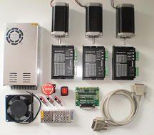 CNC kit stepper