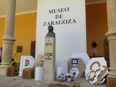 Este fin de semana se celebra en el @museozaragoza el @mercadodel13: artesanía, creatividad, música y talleres para dar visibilidad a las enfermedades raras. Date prisa, hoy es el último día y cierran a las 15:00h