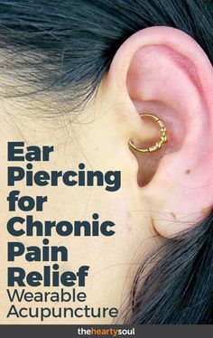 """I know, I know… it sounds crazy- but """"Daith"""" piercing has its roots in acupuncture, and may be able to relieve some symptoms of migraine and fibromyalgia. Placebo, or legitimate therapeutic practice?"""