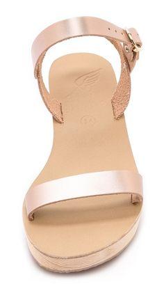 { ancient greek sandals }