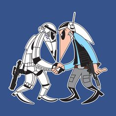 Check out this awesome 'Stormtrooper+vs+Rebel+Fleet+Trooper' design on TeePublic! http://tee.pub/lic/dB1qLsDSFes