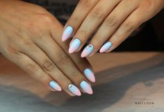 Gel nails Ombre www.naillook.pl