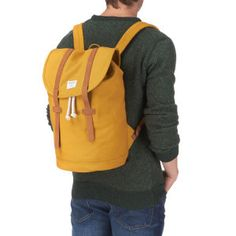 Sandqvist Stig Yellow Backpack - Yellow | Free UK Delivery*