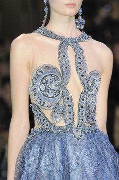 Armani Privé Haute Couture, Spring 2014 #details