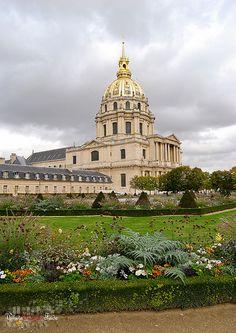 Jardin et Dôme des Invalides