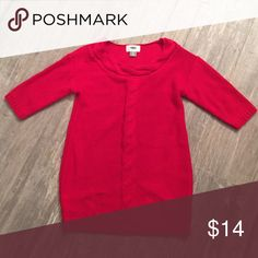 Old Navy Sweater dress/tunic Red Old Navy Sweater dress/tunic - worn once for about an hour Old Navy Dresses Casual