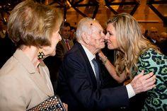 Máxima's ouders waren dinsdagavond trots op hun dochter. Dat zeiden Jorge Zorreguieta en zijn vrouw María los van elkaar na afloop van de toespraak die de koningin hield op de Katholieke Universiteit van Argentinië (UCA).