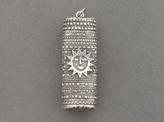 Jorma Laine for Kultateollisuus KY Finland Silver Modernist Lge Sun Pendant 1973 Silver Jewelry, Silver Rings, Couple Rings, Engraved Rings, Finland, Fashion Jewelry, Jewelry Design, Bronze, Drop Earrings
