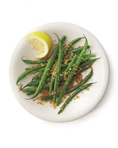 Steamed Green Beans and Carrots with Charmoula Sauce (Gluten-Free ...