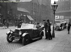 Whitworth Street, Manchester Looking to London Road, 1930