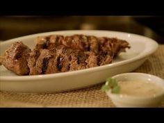 Videoreceita - Espetinho de Carne com Molho Tarator
