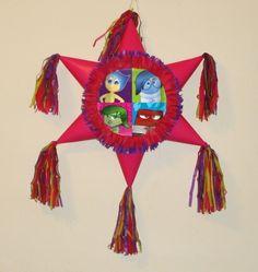 Inside Out piñata. #Handmade