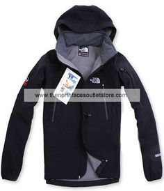 The North Face Black Wool Men Gore Tex Jackets 002