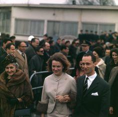 Prinses Irene en Carlos Hugo van Bourbon-Parma te tijde van hun verloving.
