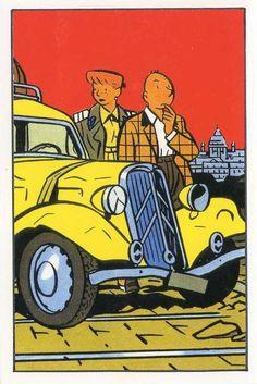 citroen traction avant dessinée par Yves Chaland