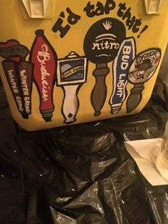 funny fraternity cooler idea