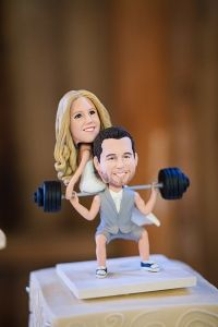 i'm thinking a lot of fellas would like this #caketopper #crossfit #weddingchicks  http://www.weddingchicks.com/2014/01/15/boaventura-de-caires-winery-wedding-2/